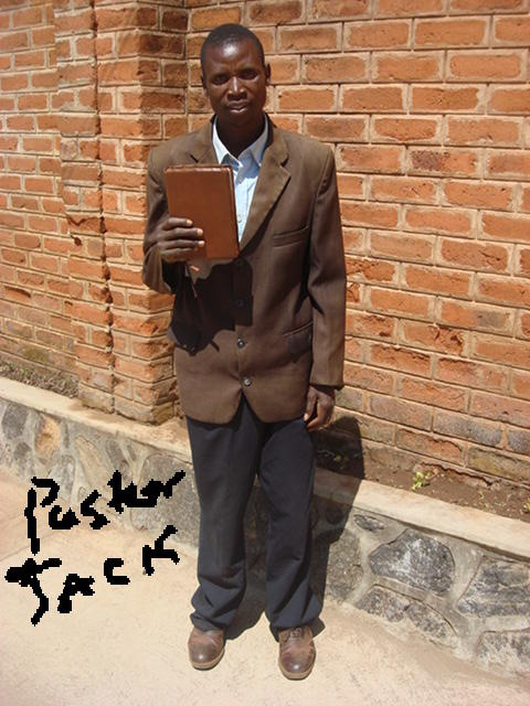 African Pastor with Caleb Bible