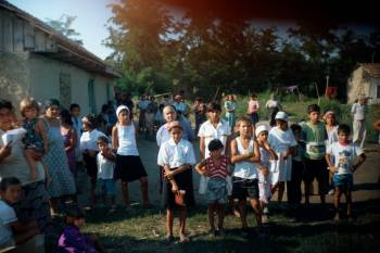 Caleb meetings have been held in sports arenas, coliseums churches, and most importantly, open fields! Lonca, Romania